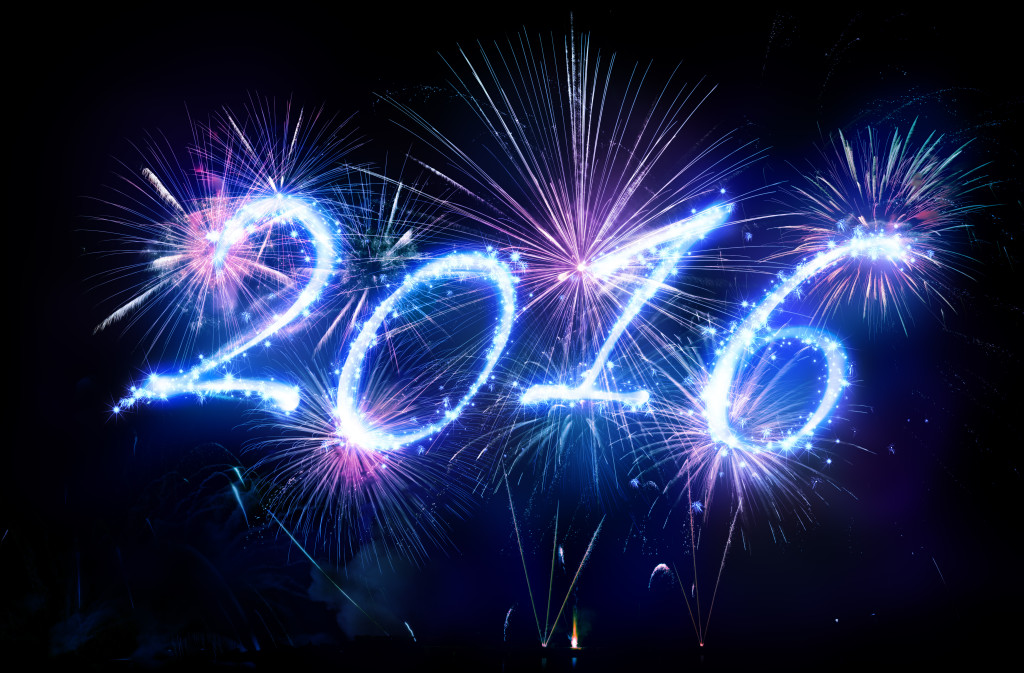Happy New Year - Blue Plate Catering