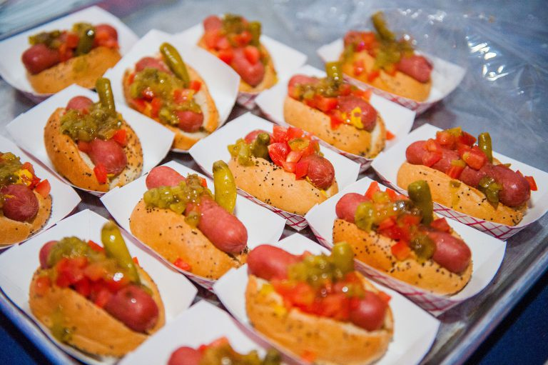 Chicago Hot Dogs | Blue Plate Catering