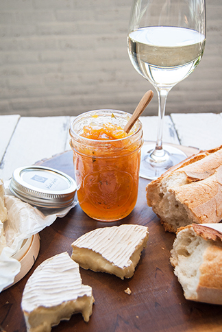 Peach Tarragon Jam, Blue Plate Catering